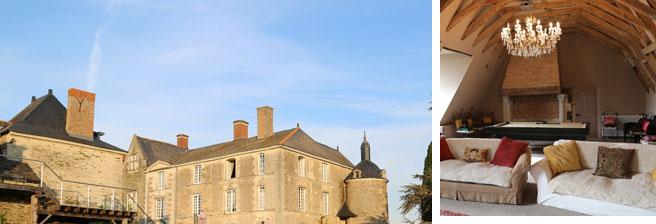 空气城堡矢量图